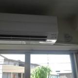 エアコン取替工事 埼玉県さいたま市南区 MSZ-AXV5618S-W