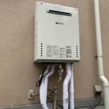 ガス給湯器 便座交換工事 東京都品川区 BC-ZA20PM-DT-ZA281PM-BW1