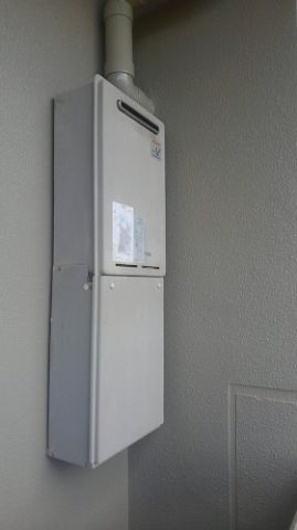 ガス給湯器交換工事 宮崎県宮崎市 RUJ-A2010W-13A