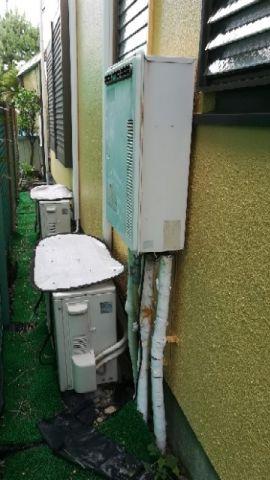 ガス給湯器 ビルトインガスコンロ交換工事 神奈川県横浜市金沢区 RUF-A1615SAW-B-set-13A