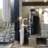石油給湯器交換工事 岡山県倉敷市 UKB-SA381A-MS