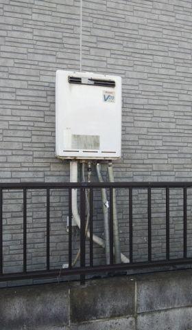 ガス給湯器交換工事 埼玉県越谷市 RUF-A2005SAW-B-set-LPG