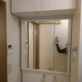 洗面化粧台交換工事 東京都文京区 LDSWB075BJJEN1-H