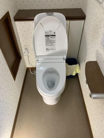 トイレ交換工事 神奈川県鎌倉市 CES9151-NW1