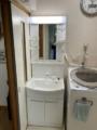 洗面化粧台交換工事 和歌山県和歌山市 GQM60KSCW-set1