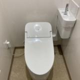 トイレ交換工事 大阪府岸和田市 UWD4SA2LZ