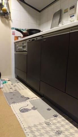 ビルトイン食洗機交換工事 神奈川県川崎市高津区 NP-45MD9W