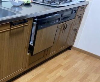 ビルトイン食洗機交換工事 滋賀県大津市 NP-45RS9S
