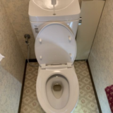 トイレ 蛇口交換工事 神奈川県横浜市西区 BC-ZA10AH-DT-ZA180AH-BW1