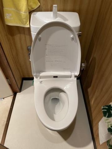 トイレ交換工事 東京都台東区 CW-KA21-BW1