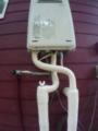 ガス給湯器交換工事 山梨県北杜市 RUX-A2016W-E-set-LPG