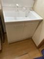 洗面化粧台交換工事 千葉県野田市 PV1N-755SY-set1
